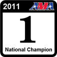 2011 LL Champ - Verified championship at the AMA Amateur National Motocross Championship in 2011.