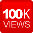 100K - Hookit profile has gotten over 100,000 views.