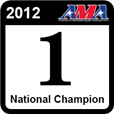 2012 LL Champ - Verified championship at the AMA Amateur National Motocross Championship in 2012.