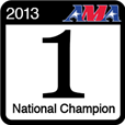 2013 LL Champ - Verified championship at the AMA Amateur National Motocross Championship in 2013.